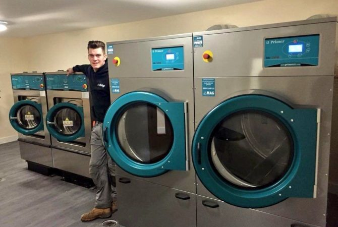 industrial laundry machines uk