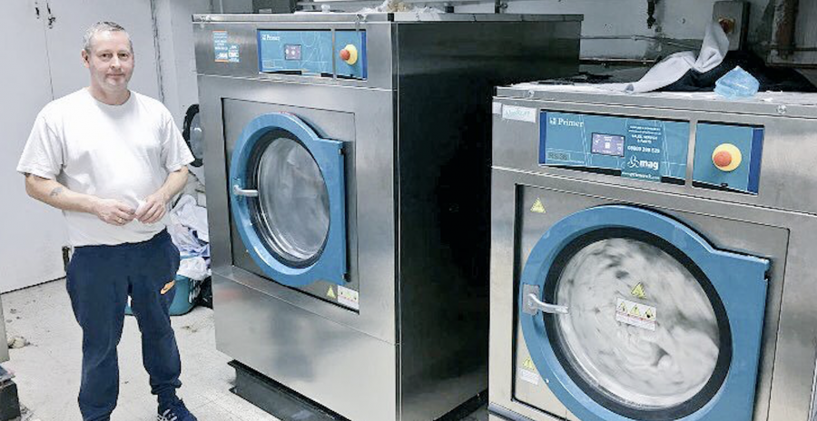 primer commmercial washing machines have great reviews from laundry