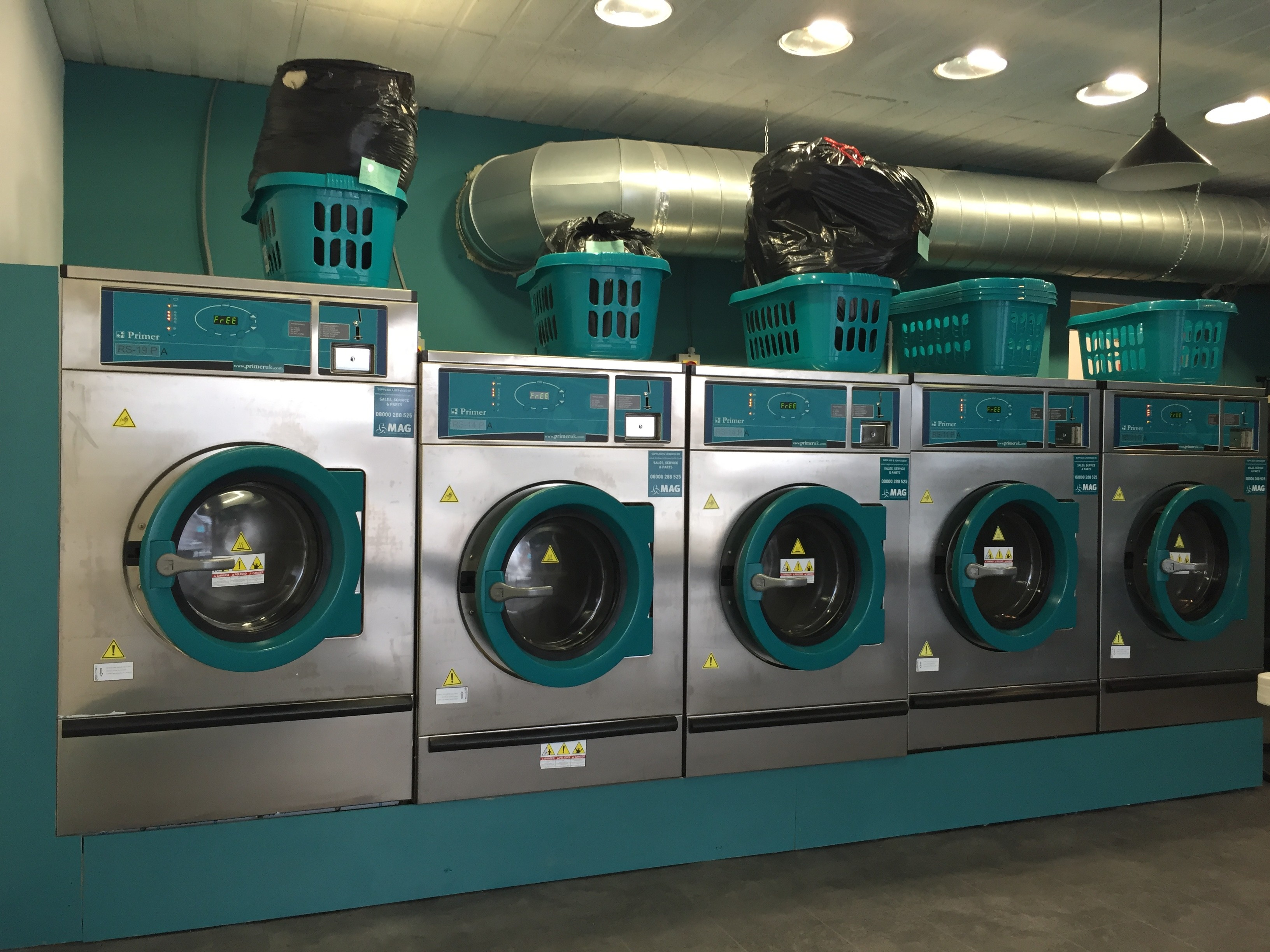 launderette primer machines
