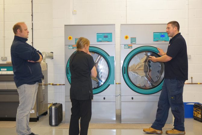 starting a new laundry business launderette commercial industrial