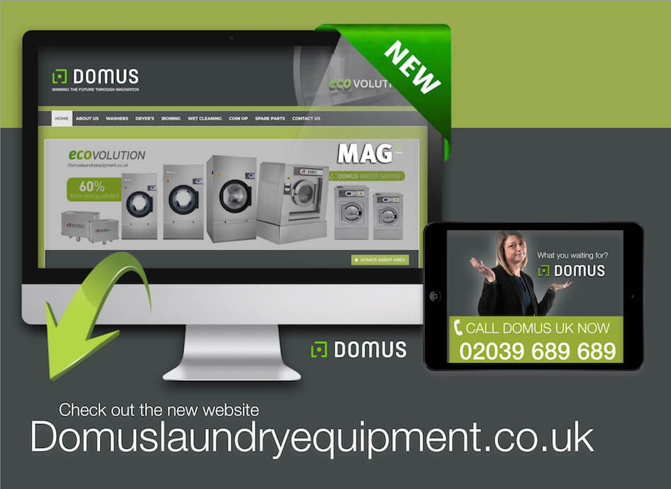 domus laundry equipment video