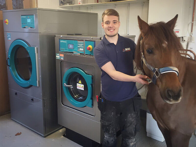 laundry equipment rental equestrian-sector horse rug washer