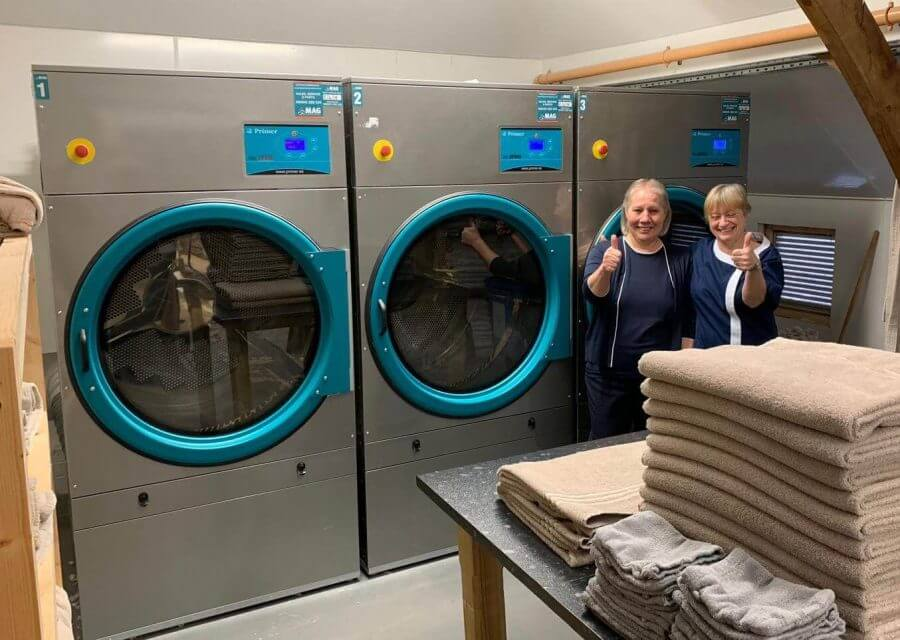 primer gas dryers in laundry