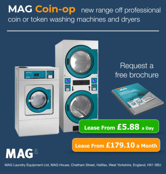 Professional Token Washing Machines & Dryers