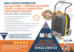 Mag Commercial Ozone Generator