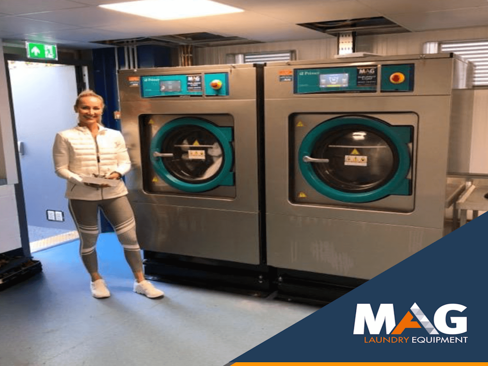 commercial industrial primer washing machines