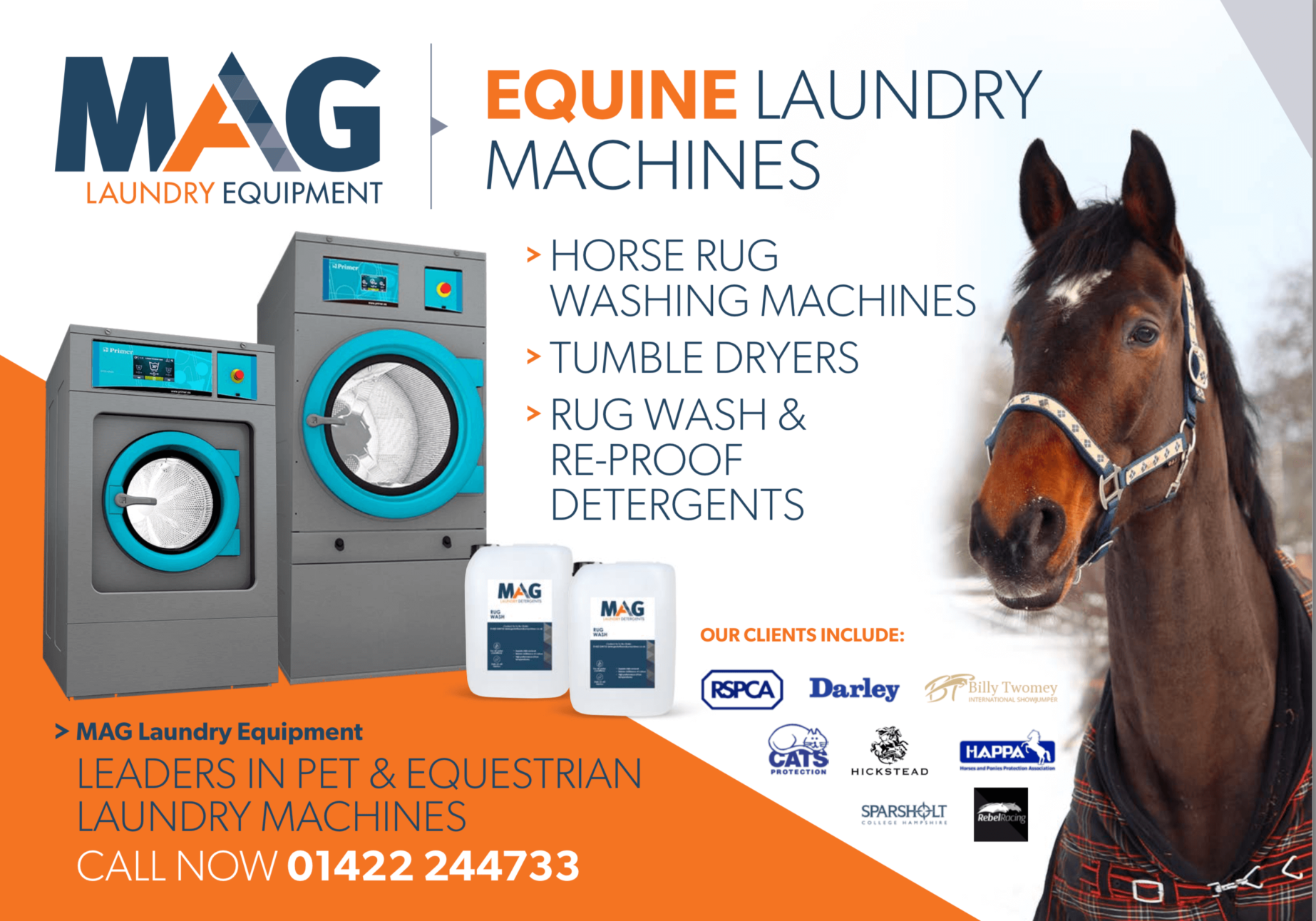 horse rug commercial washing machine business