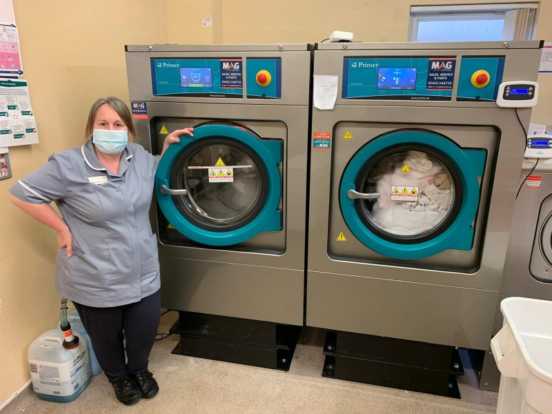 care home commercial laundry equipment