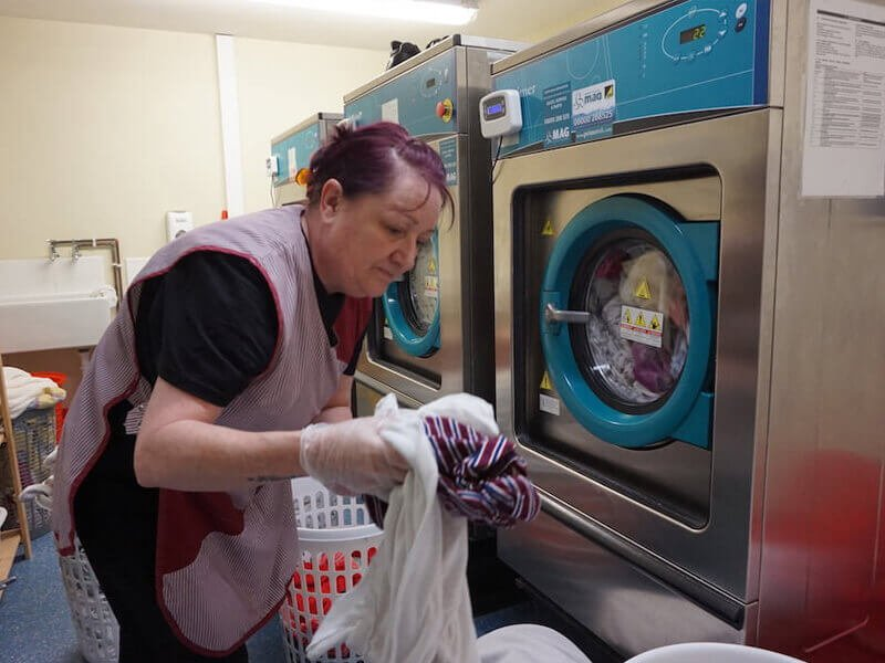 healthcare hospital laundry system commercial laundry machines